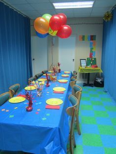 decoration: Managing Our Quiver: Andrew's Birthday
