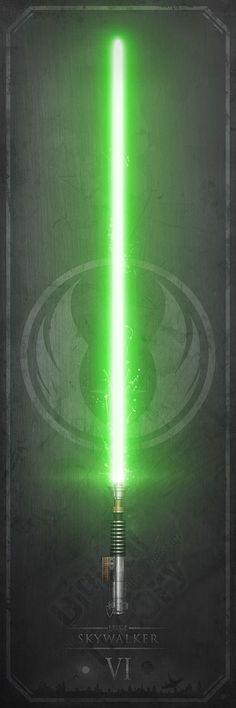 Star Wars Green Lightsaber Wallpaper