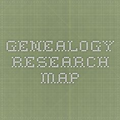 Genealogy  Research Map