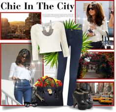 """""""Chic In The City"""" by lipstickandheels on Polyvore"""