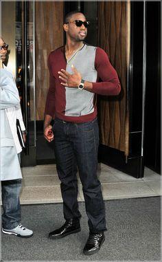 dwayne wade | Dwayne Wade Spotted in NYC : Sandra Rose