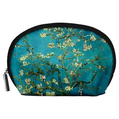 Blossoming+Almond+Tree+Accessory+Pouches+(Large)++Accessory+Pouch+(Large)