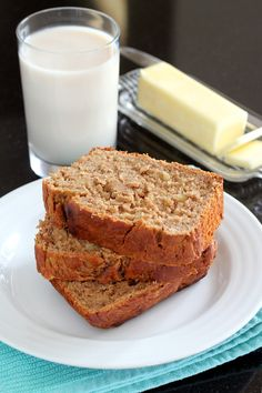 Gluten-Free Spiced Peanut Butter Banana Bread | Wheat-Free Meat-Free