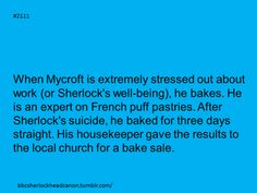 Sherlock Head Canon - I'm all for accepting this (Mycroft fascinates me).