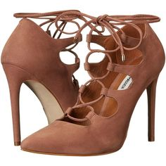 de79fb4d7f46 Steve Madden Keenton (Pink Nubuck) Women s Shoes ( 65) ❤ liked on Polyvore  · Stiletto ShoesHigh Heels ...
