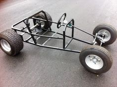 Totrod Tot varilla Chasis Gokart Go Kart Buggy de gasolina de automóviles