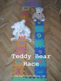 teddy bear race game for toddlers best toys for toddlers