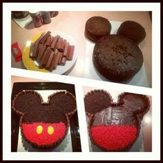 Mickey mousse cake,pastel o torta