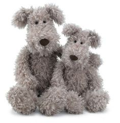 There's character all over Scamp, by Jellycat!  Love him!