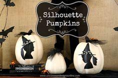 Silhouette Pumpkins - Uncommon Designs...
