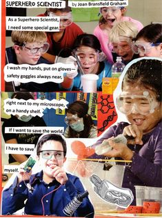 Here's another example of a poetry collage (created at a workshop for teachers in Wichita Falls, TX). This poem is from THE POETRY FRIDAY ANTHOLOGY FOR SCIENCE (edited by Sylvia Vardell & Janet Wong, 2014). Teacher Workshops, Wichita Falls, Collages, Poems, Friday, Science, Superhero, Movie Posters, Poetry