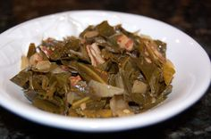 Recipe: Collard Greens http://www.100daysofrealfood.com