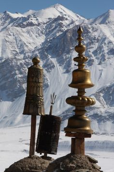 **View from a Buddhist Monastery, Tibet
