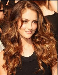 ♥️ Pinterest: DEBORAHPRAHA ♥️ Minka Kelly volume and curls hairstyle