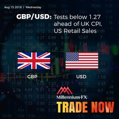 Millennium-FX - A New Millennium For Trading London Market, Gbp Usd, Financial News, Wednesday, Investing, Join, Retail, Sleeve, Retail Merchandising