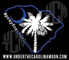 #prayforcharleston Proceeds go to The Lowcountry Ministries-The Reverend Pinckney Fund. #lowcountry  www.underthecarolinamoon.com