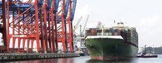 Hamburg/ Altona: Hafengebiet