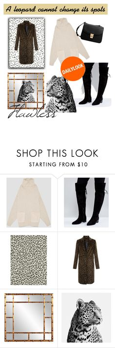 """Daily look - Leopard Print Dreams"" by hillarytheamarie ❤ liked on Polyvore featuring ASOS, Howard Elliott and MANGO"