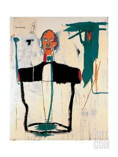 Portrait of John Giclee Print by Jean-Michel Basquiat at Art.com