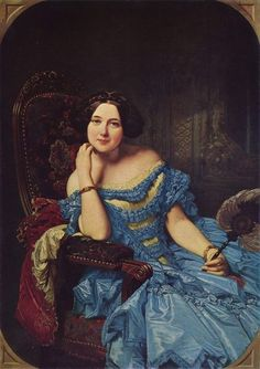 1850s Victorian Fashion