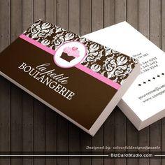 Elegant cake bakery business cards bakery business cards bakery business cards reheart Images