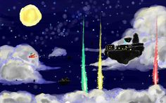 The Legend of Zelda: Skyward Sword / Skyloft / 「クリスマスの夜に」/「だんて」のイラスト [pixiv]