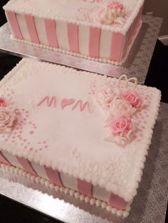 .....with two additional sheet cakes to match.