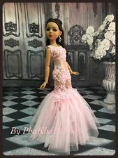 """PKPP-864 Tonner Ellowyne Wilde Princess Lace  Gown dress outfit dolls 16"""""""