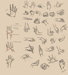 I used to suck at drawing hands - Imgur