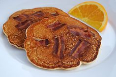 Bacon Pancakes... Now I have a whole new respect for pancakes!