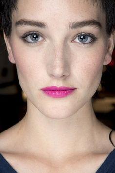 Armani Prive hair and make-up