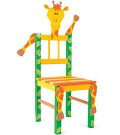 Giraffe Chair @Debbie Clement  thought this would go with your Tall Giraffe board :)