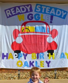 Wiggles Birthday Banner