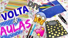 DIY | VOLTA ÀS AULAS ❤ CUSTOMIZE SEU MATERIAL ESCOLAR