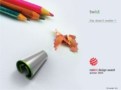 twist - red dot design concept 2012 - winner by abhishek anupam, via Behance