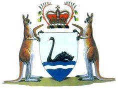 Coat of Arms of Western #Australia   #heraldry