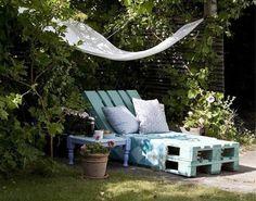 meuble de jardin ou fabriquer transat jardin en bois pas cher et chaise longue