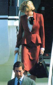 Princess Diana, One Day One Dress: 2nd September 1982, Heathrow airport