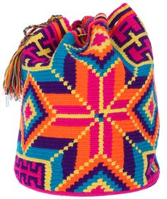 Crocheted 'Susu Bag' from colombia