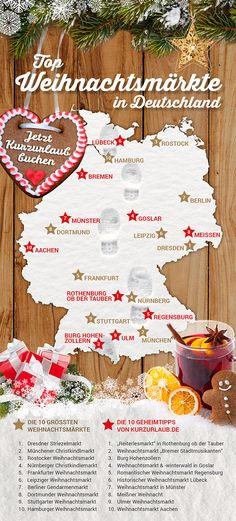 Weihnachtsmärkte in Deutschland (I'm a 10 minute walk from the #2 Geheimtip!)