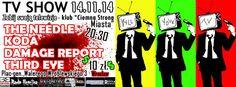 2014.11.14 Koncert THE NEEDLE, KODA, DAMAGE REPORT Ciemna Strona Miasta Klub Muzyczny , Wrocław, Polska
