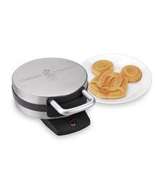 Look at this #zulilyfind! Classic Mickey Waffle Maker #zulilyfinds