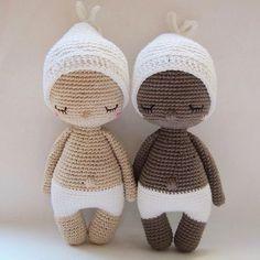 { Off to bed... Good night!  } . #Crochet #CrochetPattern #Amigurumi #Doll #CrochetBaby #CrochetDoll #MuñecoDeCrochet #Baby #Hoki #AmourFou @Etsy
