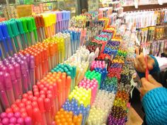 Ahhh!! I would go crazy in this store!