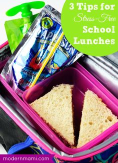This back to school season, keep school lunch packing simple with our easy tips for stress-free school lunch packing!
