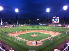 Smith's Ballpark in Salt Lake City, UT*~ Home of the Bees Baseball Park, Baseball Field, Minor League Baseball, Salt Lake City, Will Smith, Bees, How To Memorize Things, Diamonds, Adventure
