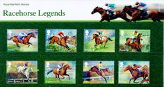 The Presentation Pack has been written by horse-racing expert and former jockey Brough Scott MBE, and includes quotes from those who knew the horses best, including Sir Henry Cecil, Ruby Walsh and 'Ginger' McCain. Uk Stamps, Postage Stamp Art, Racehorse, Unusual Gifts, Great Britain, Presentation, Packing, Miniature, England