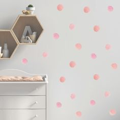 Minimalist Home Deco Polka Dot Walls, Polka Dots, Removable Wall Decals, Cushions, Pillows, Minimalist Home, Scandinavian Style, Wall Stickers, Decorating Your Home