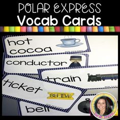 Polar Express Worksheets and Activities The Polar Express is a must-have Christmas book for kids. Get these language arts and math Polar Express printable worksheets for kindergarten and first grade. Polar Express Characters, Polar Express Book, Christmas Books For Kids, Holiday Crafts For Kids, Kindergarten Worksheets, Kindergarten Themes, Christmas Printable Activities, Train Template, Thing 1