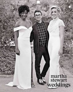 Go inside Samira Wiley and Lauren Morelli's colorful Palm Springs wedding, photographed by Jose Villa exclusively for Martha Stewart Weddings. Spring Wedding, Our Wedding, Dream Wedding, Wedding Ideas, Samira Wiley Lauren Morelli, Bridal Elegance, Lesbian Wedding, Martha Stewart Weddings, Christian Siriano
